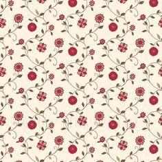 Puppenhaus Miniatur gemischte rote Blumen Tapete | eBay