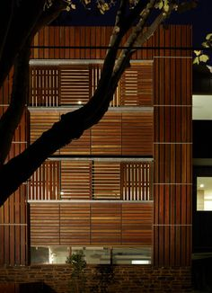 Marcus-O'Reilly-Architects- Elwood Original Timber Screens Adorning Sustainable Townhouse in Australia