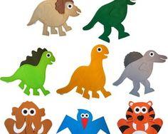Fantoches Animais - Dinossauros