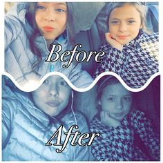 Before and after!  by itsss_hayli