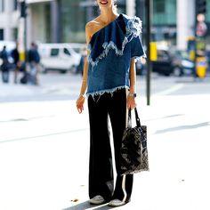Streetstyle на лондонской Неделе моды. Часть 3