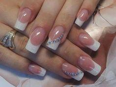Elegant Short Nail Designs 2014 sparkly rhinestone