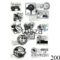 Купить декоративные силиконовые (акриловые) штампы для скрапбукинга и кардмейкинга в Киеве и Житомире (Украина) в оптовом интернет магазине для творчества.