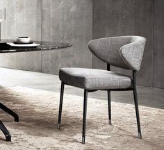Mills Chair - Minotti #Italianstyle #madeinItaly #RodolfoDordoni