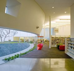 Public Library in Hercules, California - Outdoor Space