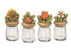 Lovely Thun glass jars.