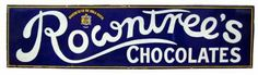 Rowntree's Strip Sign
