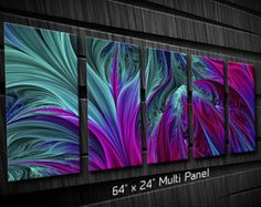 Abstract Metal Wall Art Depths - wish I had a place for this. Gorgeous!