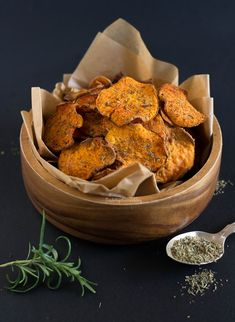 Chips de batata doce (no forno) - Made by Choices