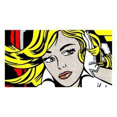 Roy Lichtenstein | ❤ liked on Polyvore