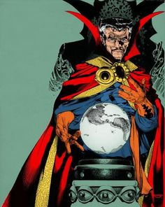 Dr. Strange - Michael Golden