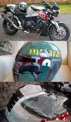 Boba Fett's BMW Motorcycle and Helmet Spotted - TechEBlog