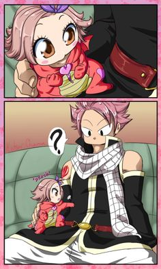 Scales and Feathers — The first and last time Natsu lied to his baby. Nalu Fairy Tail, Arte Fairy Tail, Fairy Tail Meme, Fairy Tail Comics, Fairy Tail Natsu And Lucy, Fairy Tale Anime, Fairy Tail Guild, Fairy Tail Nashi, Fairy Tail Couples