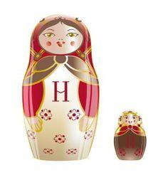 Easter chocolate matryoshkas by Hédiard, so chic !