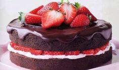 Cake fruit end chocolate