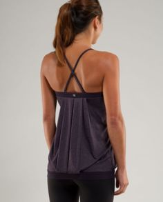 A New Generation of Gym Clothes: Lululemon tank / Perfect tank for Hot Yoga