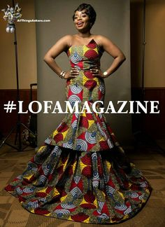 All Things Ankara: Award Shows: Liberian Entertainment Awards 2015, Best Dressed by LOFA Magazine