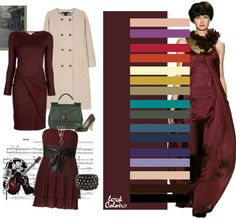 combination of colors Colour Combinations Fashion, Color Combinations For Clothes, Fashion Colours, Colorful Fashion, Color Combos, Deep Autumn, Warm Autumn, Fall Winter, Color Me Beautiful