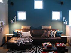 task lighting: diy IKEA desk light to wall light