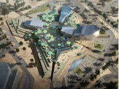 A winning 3D architectural rendering of a new cultural centre in Kuwait produced for BDP - visit www.lifang-cg.com