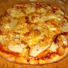 MASA PARA PIZZA A LA PIEDRA, TÉCNICAS BÁSICASEl Arte de Amasar Perfect Pizza, Good Pizza, Comida Delivery, Best Homemade Pizza, Queso Cheese, Deli Food, Tasty, Yummy Food, How To Make Pizza