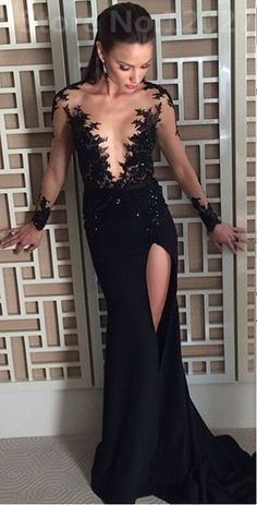 Sexy Black Lace Prom Dress Prom Dresses Evening Party Gown Formal Wear sold by bbpromdress. Shop more products from bbpromdress on Storenvy, the home of independent small businesses all over the world.