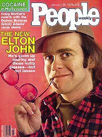 January 16, 1978  COVER STORY  The New Elton John  Elton John No Longer Views Life Through Crazy Glasses. He's Given Up Touring but Not the Lasses.