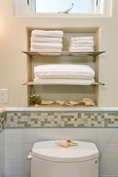 Built in for towels