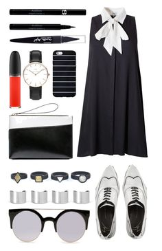 """Untitled 408"" by cattstyles-delenfent ❤ liked on Polyvore featuring Maison Margiela, Marni, Giuseppe Zanotti, MAC Cosmetics, Sisley, Daniel Wellington, Maybelline, women's clothing, women and female"