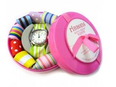 Find Your Brands: Ribbon Watch with Interchangeable Straps