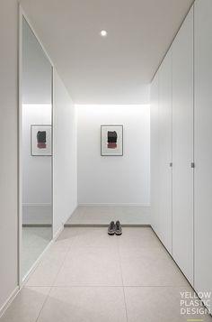 Interior Concept, Modern Interior, Home Interior Design, Interior And Exterior, Home Living Room, Living Room Designs, Minimal Apartment, Built In Furniture, House Entrance