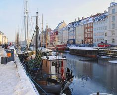 Nyhavn Street in Copenhagen. Beautiful buildings classic boats all decorated with lovely white snow. #nyhavn #copenhagen #white #snow #river #boats #denmark #travel #traveling #wanderlust #travelphotography #visiting #instatravel #instago #instagood #trip #holiday #photooftheday #fun #travelling #tourism #tourist #instapassport #instatraveling #mytravelgram #travelgram #travelingram #igtravel
