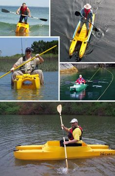 Kayaks are not normally recommended for the balance-challenged but the innovative WaveWalk kayak puts a new spin on things. Evoking the stable design of the much-larger catamaran, WaveWalk kayaks are so stable they can be stood up in and fished from – a trick even the Eskimos did not know.