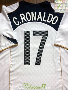 Relive Cristiano Ronaldo s 2004 2005 international season with this vintage  Nike Portugal away football shirt 11048937c