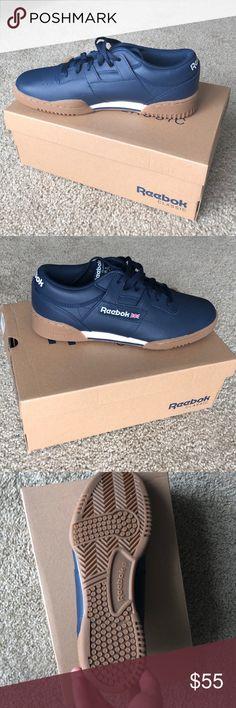 6b897100d2f8 Reebok Classic Men s Workout Shoe BRAND NEW Reebok men s leather classic  shoe with flat sole