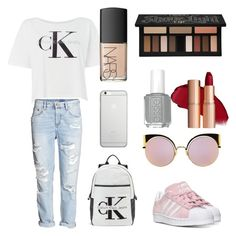 """Untitled #475"" by bekanadasi ❤ liked on Polyvore featuring Calvin Klein, adidas, Native Union, Fendi, NARS Cosmetics and Kat Von D"