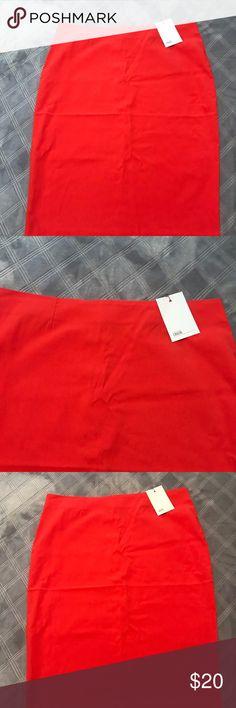 Asos skirt Brand NWT ASOS skirt , red summery vibes ASOS Skirts Midi