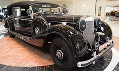 1941 Mercedes-Benz 770K once upon a time owned by Adolf Hitler.