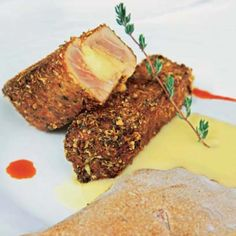 Crujiente de tarantelo de atún #recipes #cuisine