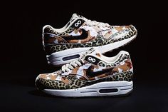 new style 27e2f 13f1a atmos X Nike Air Max Animal Camo Pack - Sneaker Freaker