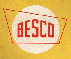 "I think this is a very interesting logo. It is basically a retro 1960s logo with grain on top of it. However, what makes it stand out is the shape surrounding the text ""BESCO"". It immediately makes the logo a lot more interesting and makes it stand out and be something unique, not just an outdated logo."