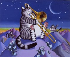 Moonlight Serenade by B. Kliban