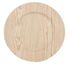 """13"""" Faux Wood Charger Plate"""