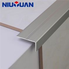 NIUYUAN have 15 Years of Experience in Supplying Tile Accessories, Floor Accessories and Related Products. Laminate Flooring On Stairs, Round Stairs, Tiling Tools, Tile Leveling System, Tile Edge, Floor Trim, Tile Trim, Stair Nosing, Modern Stairs