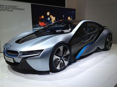 Beautiful BMW i8 ConceptZ Sports Cars