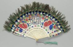 Chinese Export Fan, 1875, The Museum of Fine Arts, Boston