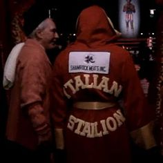"Rocky Movie ""The Italian Stallion"""