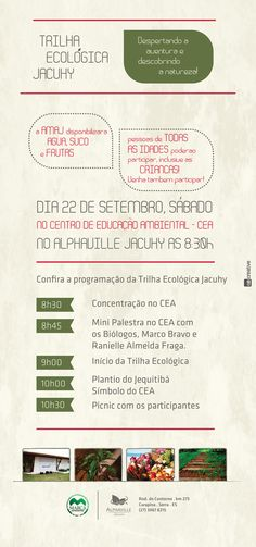 Banner Trilha Ecológica