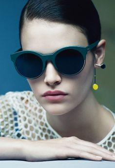 9ff61d9956e8 Christian Dior 2015 Eyewear Ad Vanessa Moody