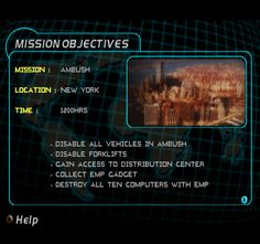 Image result for mission briefing screen